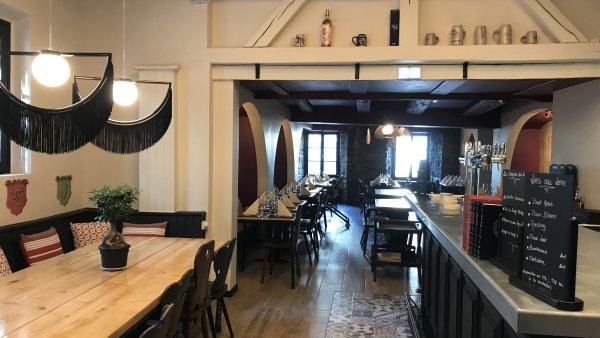 Rénovation et décoration du restaurant Le Vieux Couvent à Mulhouse