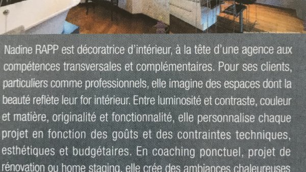Article de presse Madame Figaro